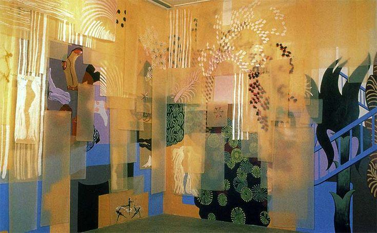 installation Shazia Sikander