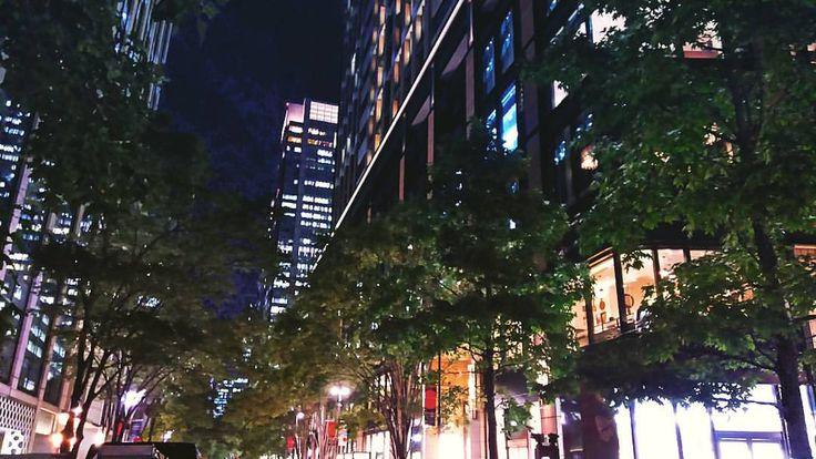 いいね!7件、コメント1件 ― アドニスさん(@ichikawa2555)のInstagramアカウント: 「ちょっと外国気分な通り~ #丸の内 #丸の内仲通り #夜景 #東京の夜」