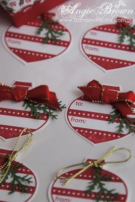 Stampin' Dreams: Stampin' Up! Christmas Ornament Punch