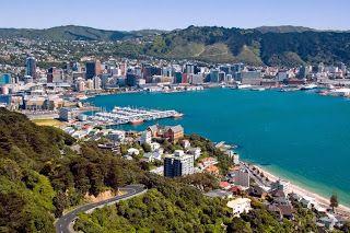 Wellington New Zealand -- Gamma World City in the World
