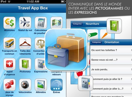 Travel App Box: the Swiss Army knife for travelers with 15 handy tools for business and leisure travelers l #iphone