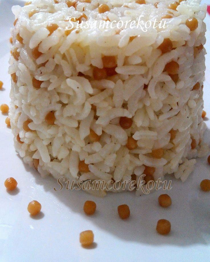 Kuskuslu Pirinç Pilavı - Susam Çörek Otu Denenmiş Tarifler