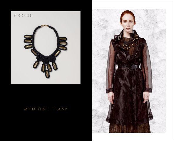 Mendini Clasp Neckpiece. Buy Online: www.pichulik.com/shop
