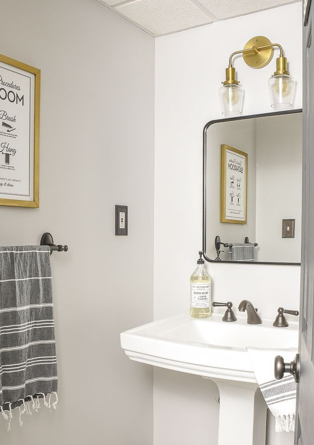 Simple And Affordable Updates To Our Vintage Modern Bathroom