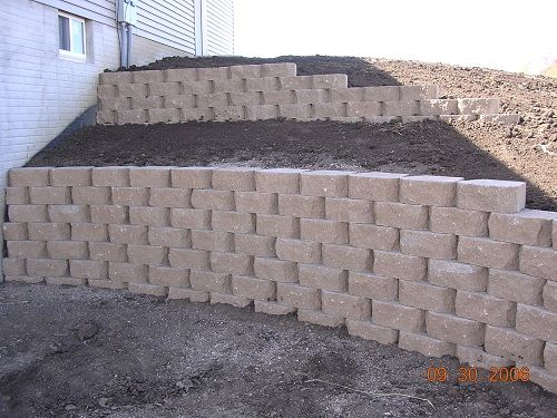 Elegant Walk Out Basement Retaining Wall Ideas