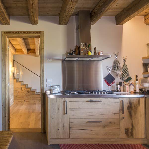 14 migliori immagini Cucine in legno antico   Old wood kitchen su ...