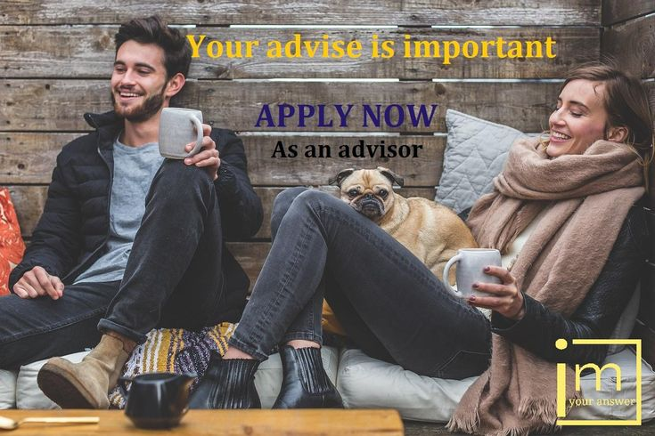 If you have any #skills and seeking an #online_job !!!  I'm your answer gives the opportunity to join our #talented team and work from home   All you need is to APPLY as an advisor.  Please visit our website :  http://www.imyouranswer.com/    #online_job #recruiting #hiring #seek #chance #opportunity #expert #talent #skills #motivated #need_job #jobless #freelance #freelancer