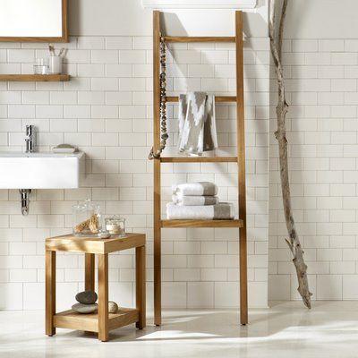 Ladder rack decor idea