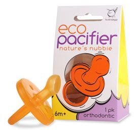 Orthodontic Natural Rubber Pacifier $7.49 rlbl Ecopiggy's Natural Pacifier is made from 100% natural rubber from the rubber tree, Havea brasillensi. They are made without chemical softerners or colorants. The natural choice for your child! European Standard EN 1400. BPA, PVC, Phthalate, and Paraben Free.  Sustainably made in Malaysia. #wishlist