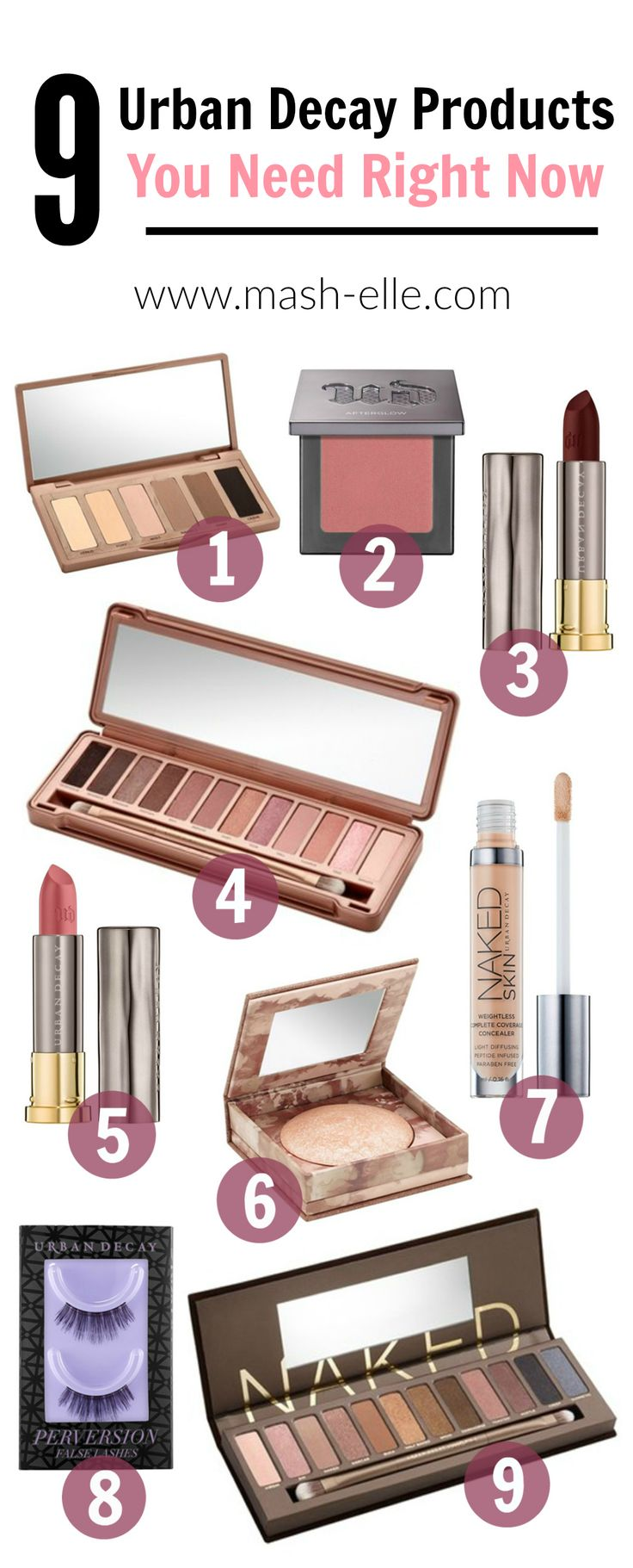 Finally the best of the best! All of the Urban Decay products you NEED in your…