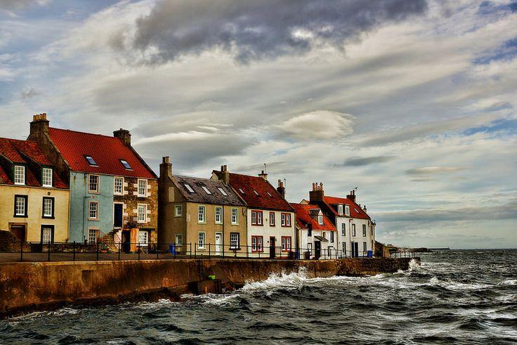 Windows to the sea, St Monans, Fife, Scotland