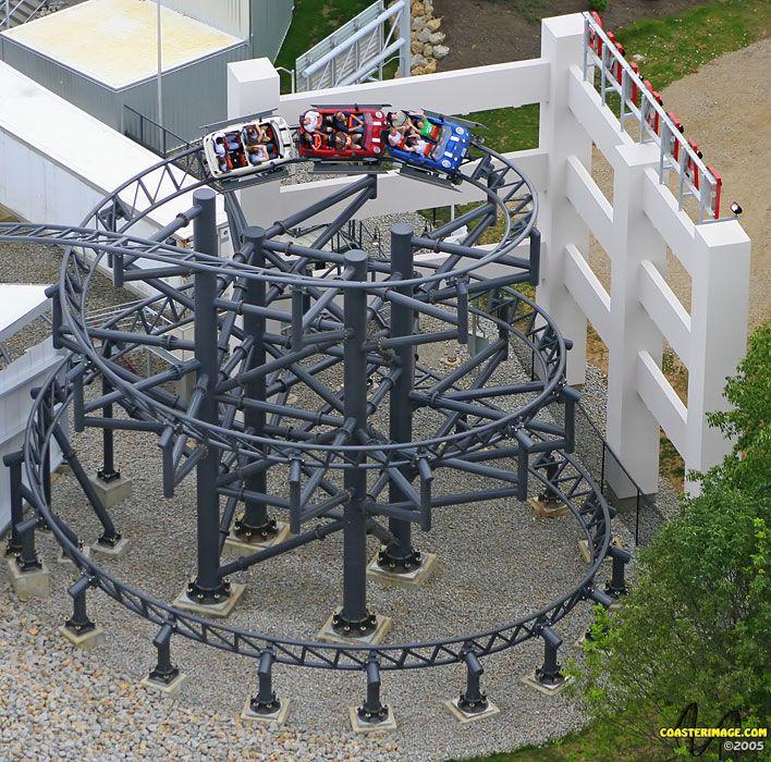 Backlot Stunt Coaster (Formerly The Italian Job:Stunt Coaster) - Kings Island
