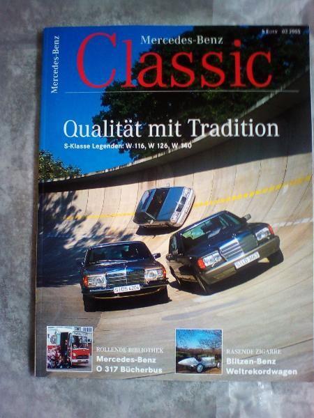 Mercedes-Benz!CLASSICS!Ausg.:   03/2005!NEU!