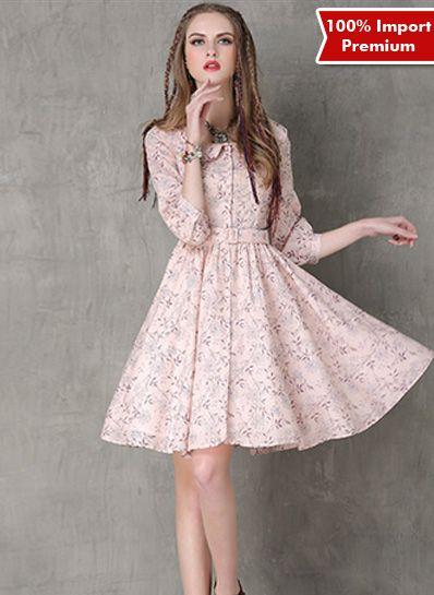 Dress Import Premium 601PR  | shopasista.com | Distributor baju import | distributor baju korea | grosir baju korea | grosir baju import | supplier baju korea tangan pertama | importir baju korea