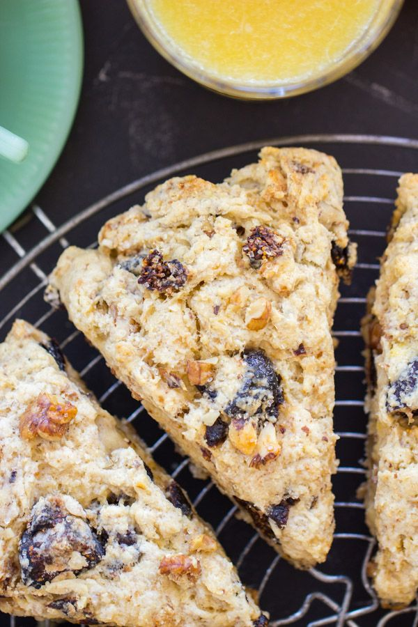 Walnut Fig Scones recipe image thegoldlininggirl 8
