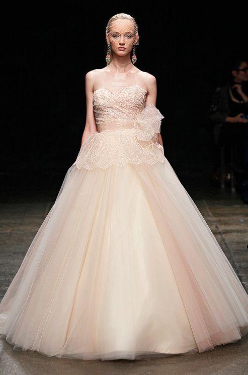 110 best Pink Wedding Dresses images on Pinterest | Weddings, Blush ...