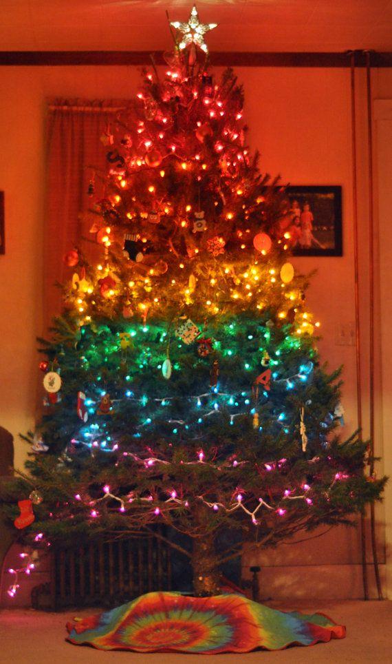 blackrainbow christmas trees - photo #15