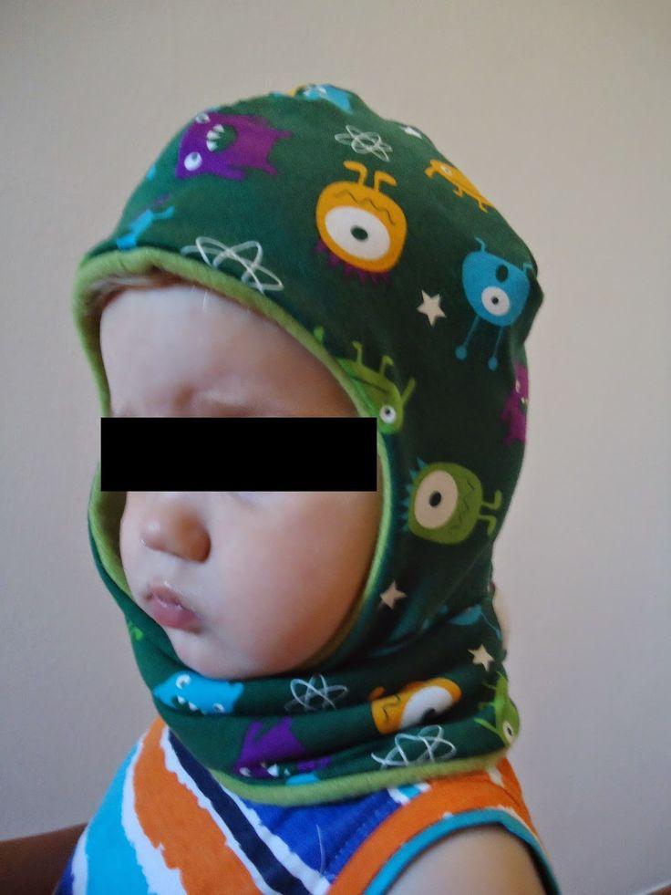 SchaMützel ;) Eine Schalmütze, Mütze und Schal in einem nähen, mit oder ohne Schirm nähbar, KU40-54