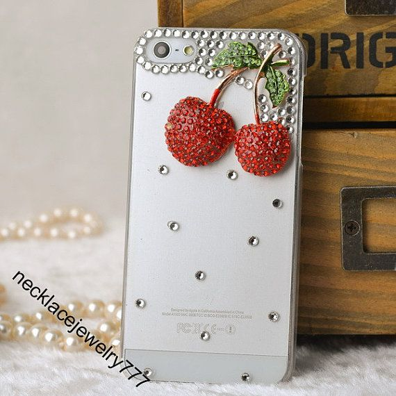 For iphone 5s case, iphone 5s cases - best and unique cute apple cherry pattern iphone 5s cover, iphone 5 cover,iphone 5 cases