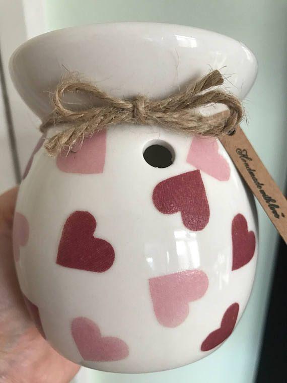 Hearts Wax Burner Emma Bridgewater Style