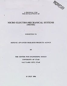 Microelectromechanical systems - Wikipedia, the free encyclopedia