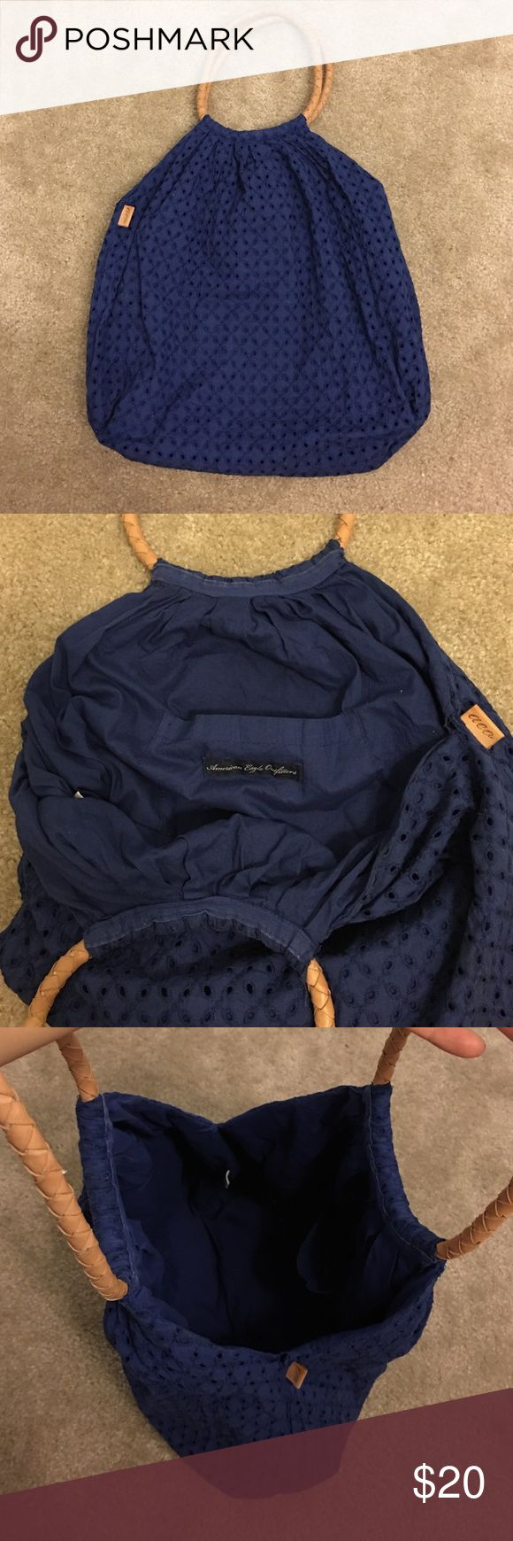 American Eagle tote bag Gently used condition, cute and roomy tote bag. American Eagle Outfitters Bags Totes