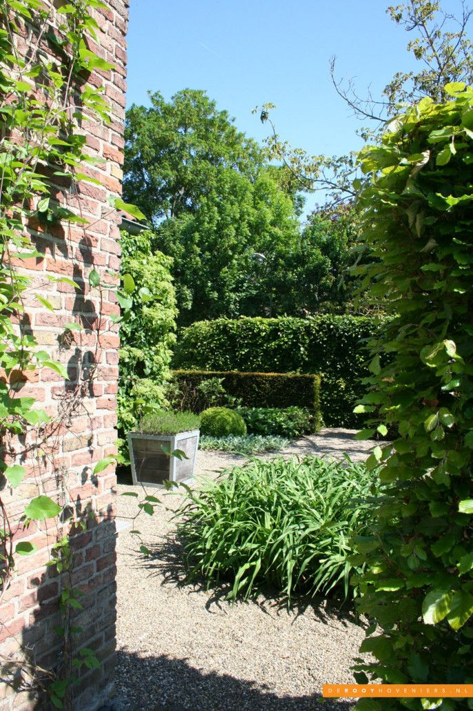 Tuin ideeën De Rooy Hoveniers stijlvolle tuin groene tuin Dussen