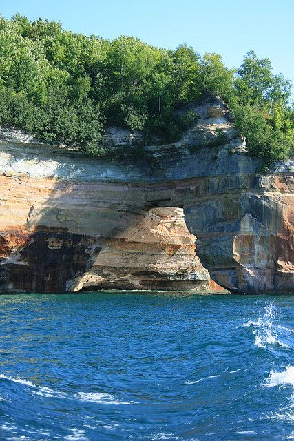 Pictured Rocks National Lakeshore ~ Lake Superior, Upper Peninsula, Michigan