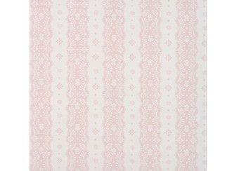 schattig gestreept behang papier 'dentelle stripe' Room Seven | kinderen-shop Kleine Zebra