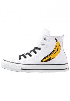 Converse - CHUCK TAYLOR ALL STAR WARHOL - Baskets montantes - white/black/freesia
