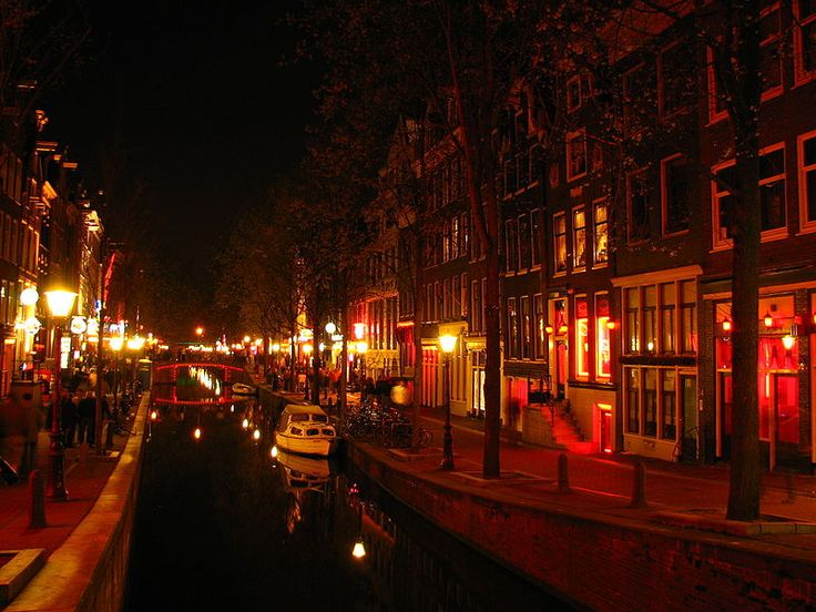 Red Light District, Amsterdam, Netherlands