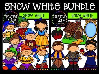 Snow White {Creative Clips Digital Clipart}