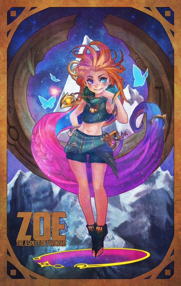 Zoe - The Aspect of Twilight by MonoriRogue
