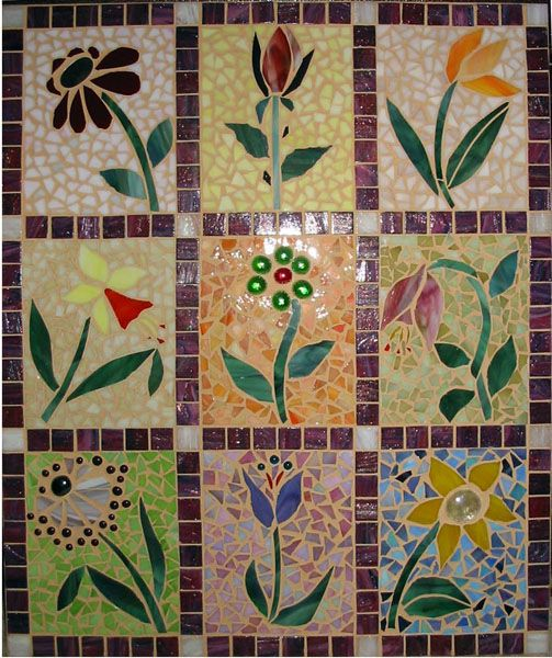 1028 best images about mosaic on pinterest mosaics for Easy mosaic designs