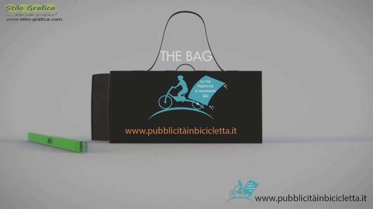 Novità PUBBLICITÀ IN BICICLETTA CON IL CARRELLO PIEGHEVOLE www.pubblicitainbicicletta.it