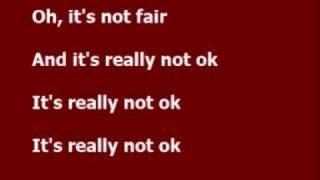 Not fair - Lily Allen lyrics, via YouTube.