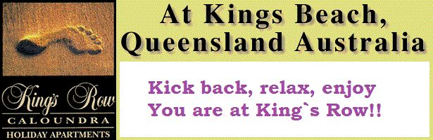 Kings Row Holiday Apartments - Holiday Accommodation in Kings Beach.
