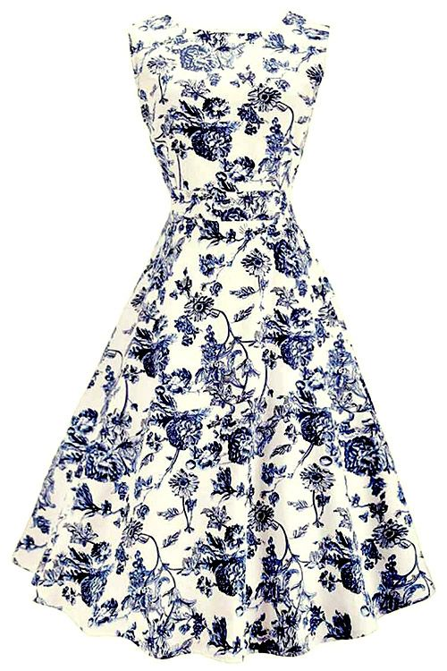 Amazing~, 20% Off Now ! Free shipping & Easy Return+Refund! This floral classic with sash gonna be perfect on you! Find more at Cupshe.com !