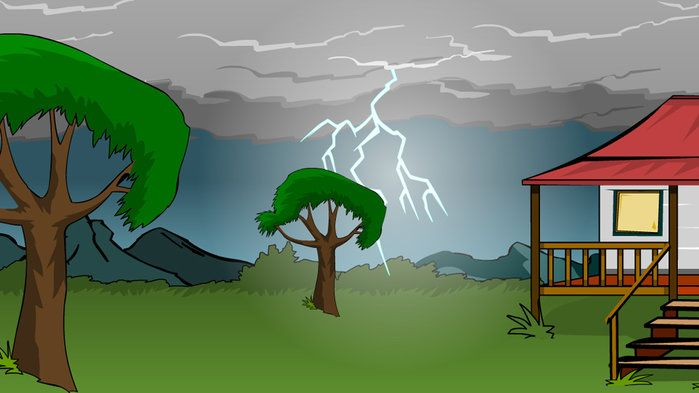Sound: thunderstorms - Science (5,6,7,8)