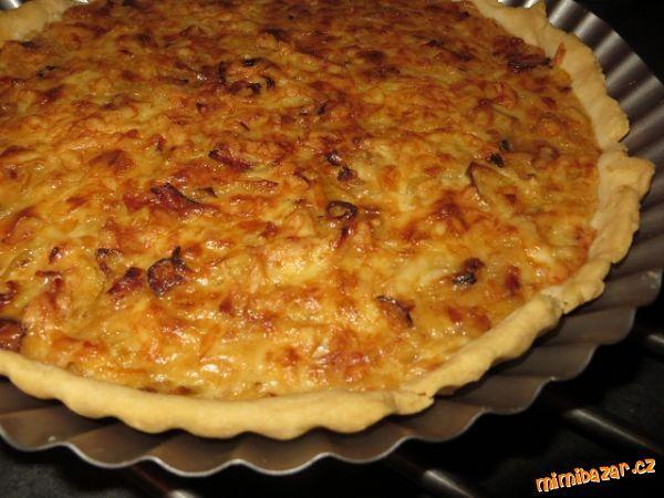 Quiche - cibulový koláč