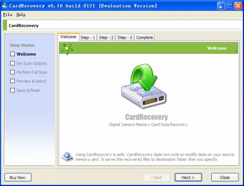 Picture Recovery - CardRecovery Screenshots