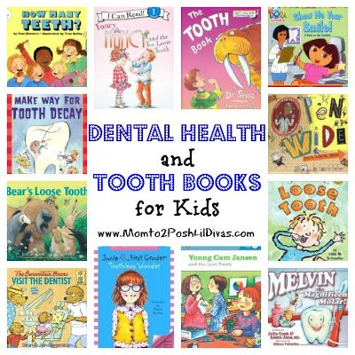 dental health and tooth themed books for kids (preschool thru 2nd grade)