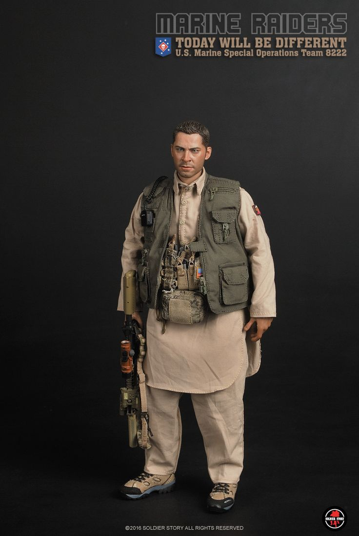 new ss 1/6 Marine Raiders Today Will Be Different MSOT 8222