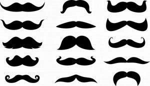 Passion du Vélo d'Eric et de Denis: Voici différents types de moustaches de l'époque début 20 siècle