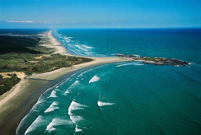 Ninety Mile Beach, Cape Reinga, New Zealand