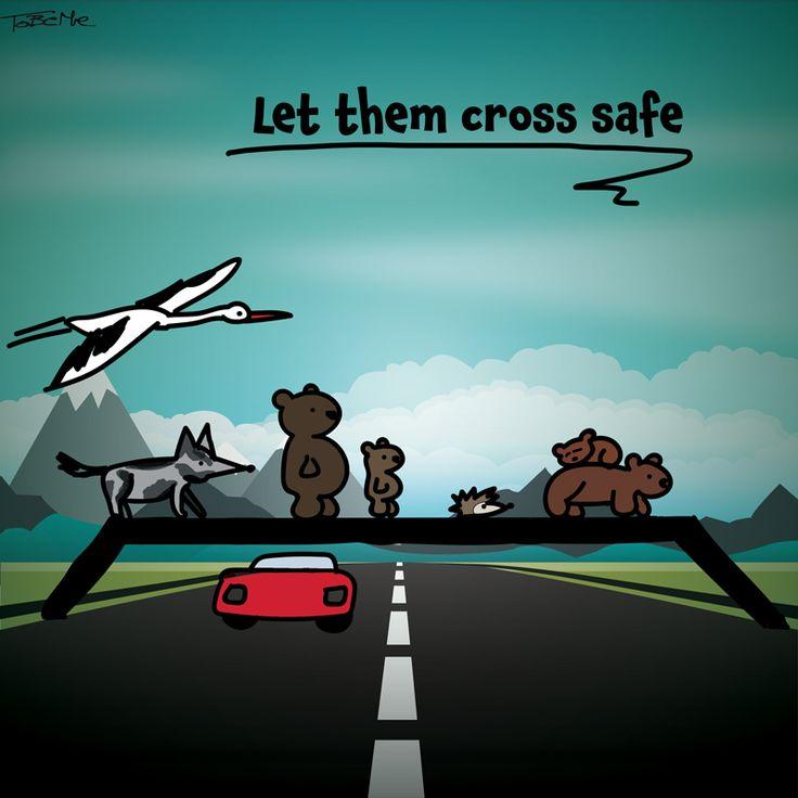 Let them cross safe.