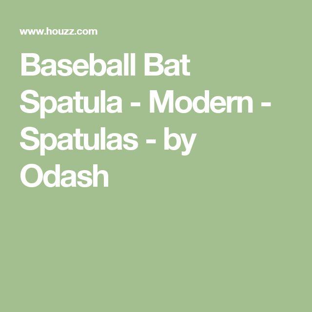 Baseball Bat Spatula - Modern - Spatulas - by Odash