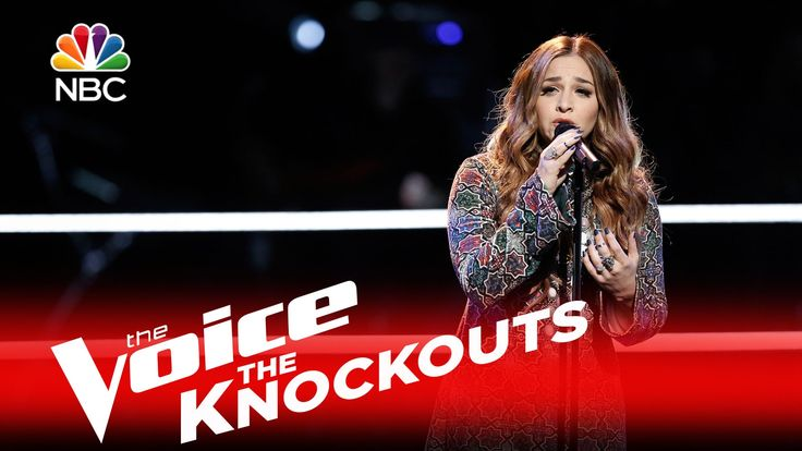 """The Voice 2016 Knockout - Alisan Porter: """"River""""  March 2016"""