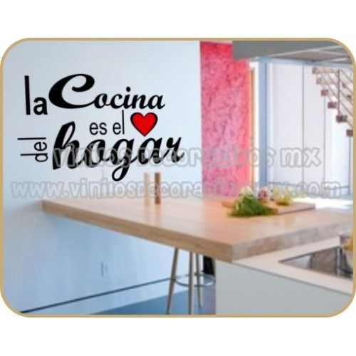 Vinilos decorativos para cocina 14 la cocina es el for Cocinas para el hogar