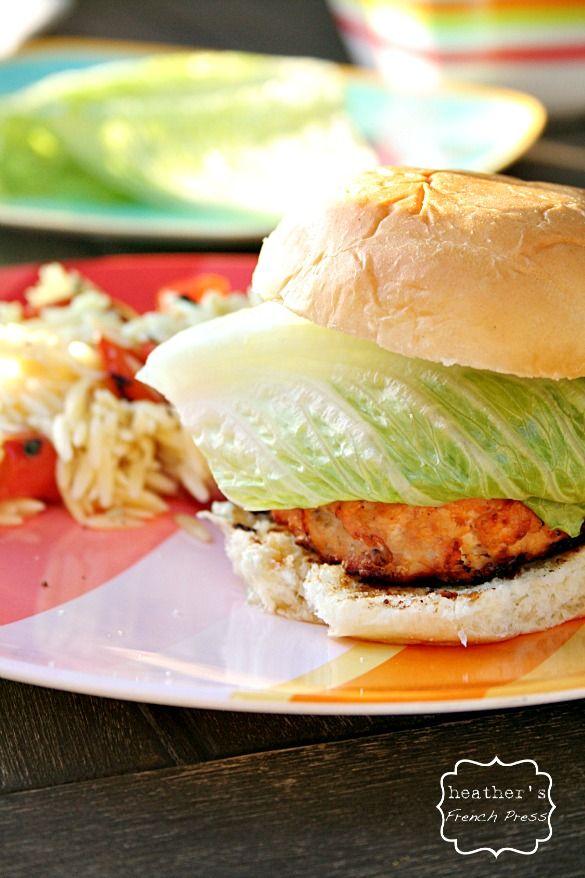 Buffalo Chicken Burgers | Recipe